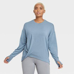 Women's Modal French Terry Pullover Size L